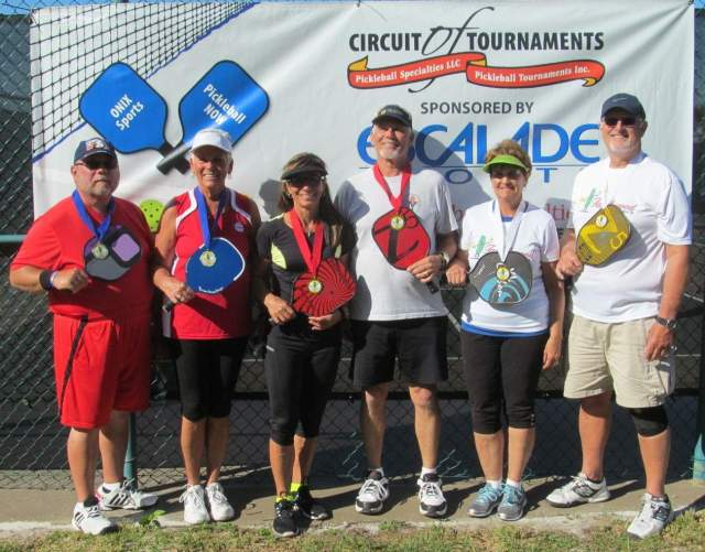150 compete in pickleball tournament